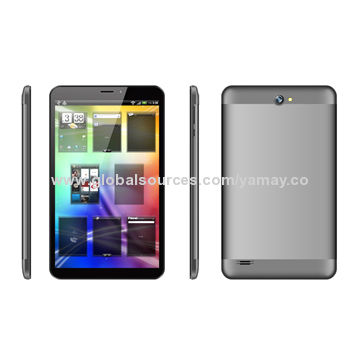 China 8-inch 3G tablet PC, Android 4.4, MTK8382 quad core IPS screen, 1GB+8GB, dual camera, GPS, BT, Wi-Fi