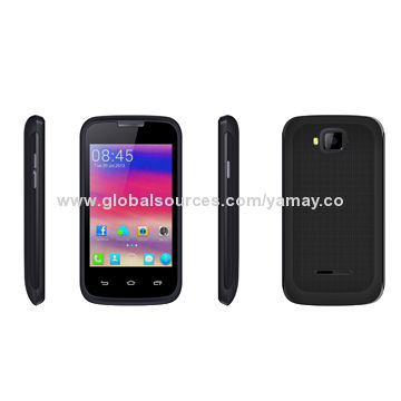 China 3.5-inch SC6820 Single Core Android 4.4.2, 320*480Ppix, 256+512MB, GSM Smartphones