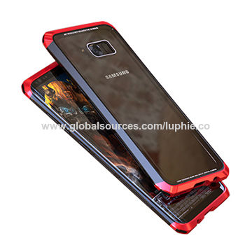 half off cc1a8 edf3e China Double Dragon Aluminum Case, Bumper Glass Back Cover Phone ...