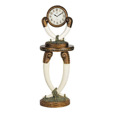 China Art clocks, China import items decor for home interior products hotel decoration