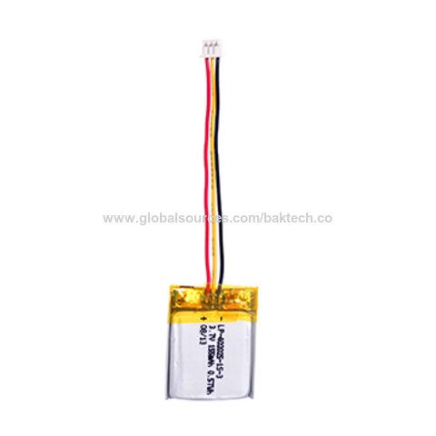 China 3.7V 155mAh LP-402025-1S-3 Lithium Polymer Battery