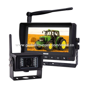 China Wireless camera observation system of auto part for farm harvester safety vision