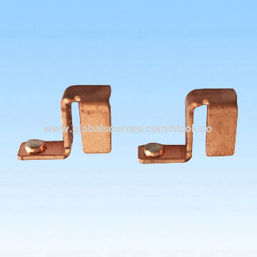 China Metal stamping parts,assembled customized designed screws,riveting and welding with silver contact