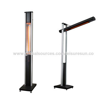 China Patio Heater Bali Floor Standing Electric Heater(Manual Version)