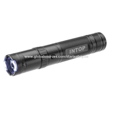 China Quality self-defense stun gun with flashlight, high voltage electric shock/stun flashlight with CE