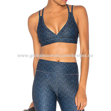 Women's sports tops,90%polyester 10%spandex
