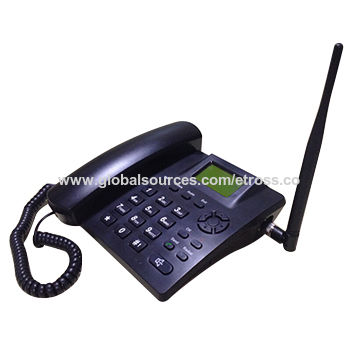 China Heavy stock GSM fixed wireless desk phone table phone