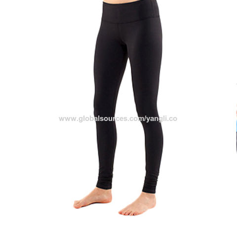 Custom Dry Fit Gym Fitness Leggings ,Nylon Spandex lulu Yoga Pants