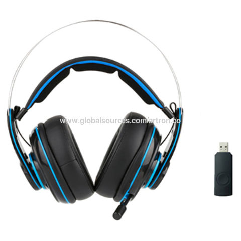 2.4G wireless gaming headset for PS4/PC