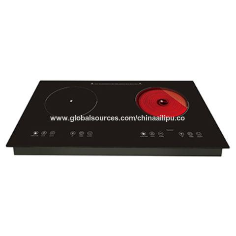 China Built-in 1 burner induction cooker & 1 burner infrared cooker 3600W SM-DCF101