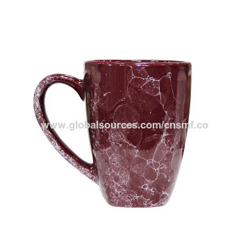 Ceramic Coffee Mugs with 14oz Capacity and Reactive Glazed, Suitable for Promotional Purposes