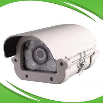 Full HD 2MP Car Plate LPR Camera with 6pcs Warm Yellow Dot-matrix Array LED