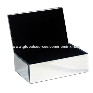 China Crystal Beautify Mirrored Glass Fashionable Drawer Jewelry Organizer Storage Box Velvet Lining ...  sc 1 st  Global Sources & China Crystal Beautify Mirrored Glass Fashionable Drawer Jewelry ...