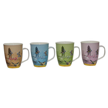 3cd89b58394 12oz Ceramic/Newbone China Bullet Mugs in Nice Color Box Packaging,  Suitable for Gifts