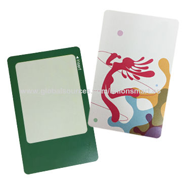 0.28mm Thin Thermal Rewritable Card