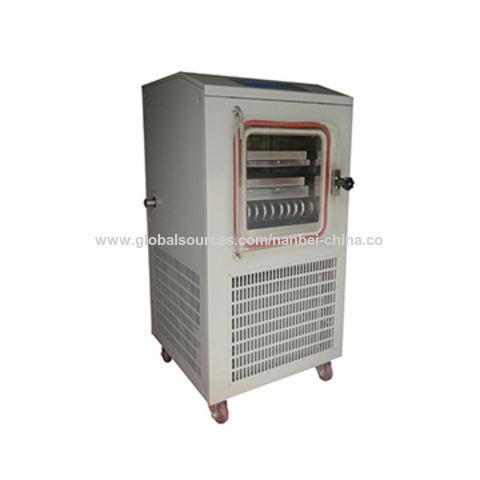 China Pilot lyophilizer freeze dryer, fruit lyophilization