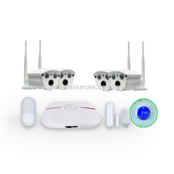 Super mini all-in-one portable 4CH P2P WiFi HDMI NVR with built-in 2.5-inch HDD