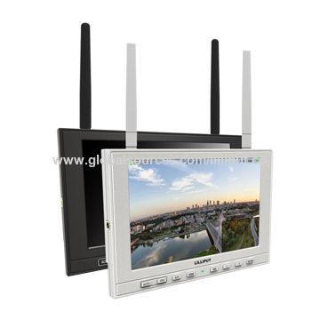 """China 7"""" FPV Monitor with 1280×800 and Auto Antenna Switching to Get Best Signal"""