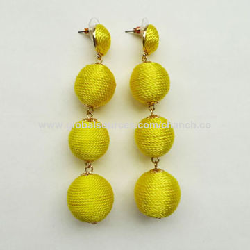 China New Designs Fashion Drop Earrings,Bohemian Style for Ladies,Customized Designs are Welcome