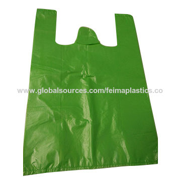 Plastic T Shirt Bags Medium