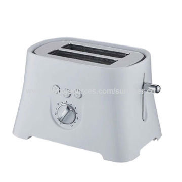 China Toaster With Mid Cycle Cancel Function And Slide Out Crumb Tray