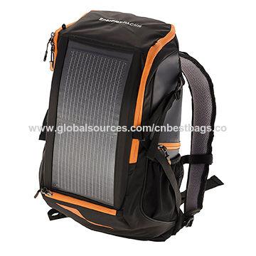 China La mochila interna del marco del cargador solar que camina ...