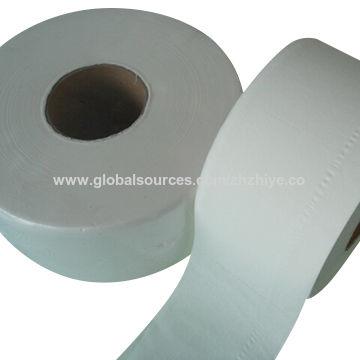 China Jumbo Roll Toilet Tissue Paper 2 Ply White Virgin 800 Grams 12 Rolls