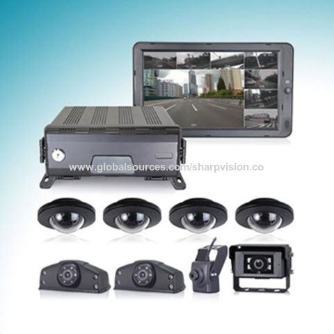China 1080P Touch Control DVR System with 3G/4G/WIFI/GPS tracking technology