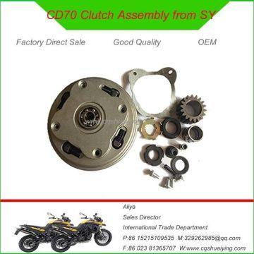 China Honda Motorcycle Parts Cd70 Motorcycle Clutch Assembly