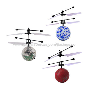 China New Product with LED Light Kid's Flying Ball