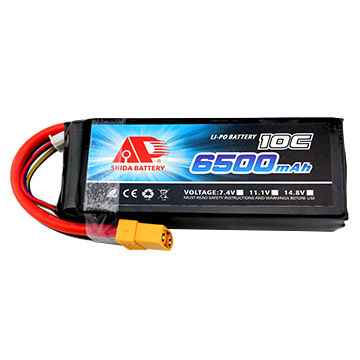 China 6500mAh 10C 11.1V Lithium Polymer Battery for Drone