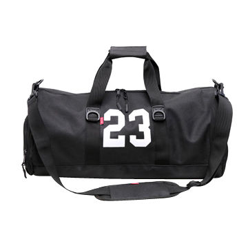 China Lightweight Gym Duffel Bag With Individual Shoes Compartment Customized Designs Are Welcome