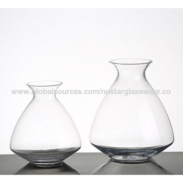 China Clear Glass Vase From Qingdao Wholesaler Qingdao Nustar