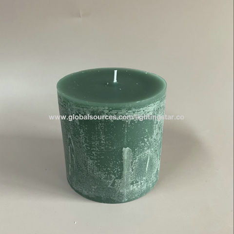China Lighting Star Squared Rustic Candles Made with the Premium Quality Wax