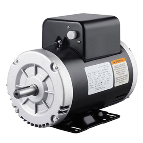 NEMA Air compressor motor, Capacitor Start and Capacitor Run, Drip-proof, 1.15 Service Factor
