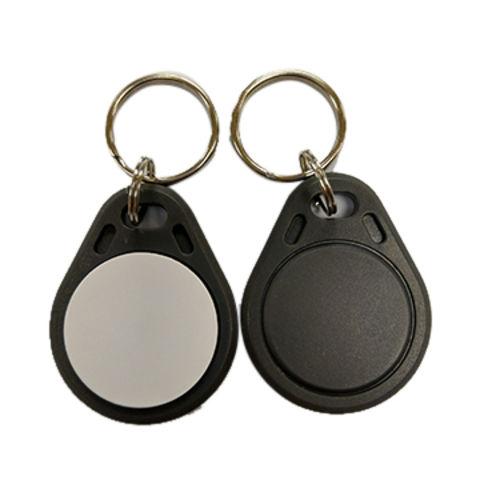 Taiwan RFID ABS Key Fob, Gray+White, ATA5577, 125kHz