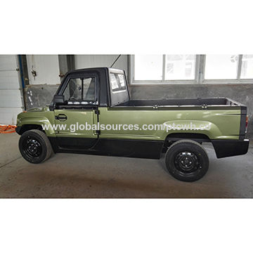 china electric pickup 72v 4kw truck 45kmh dot and eec approved on global sources. Black Bedroom Furniture Sets. Home Design Ideas