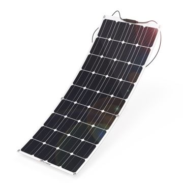 China 100W Mono Flexible Solar Panel charger for battery,car,boat