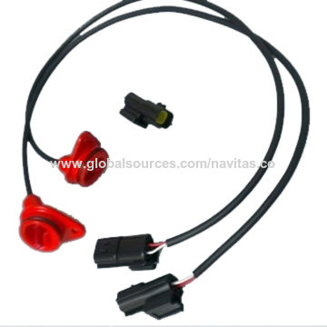 Taiwan AMP 2-pin Tyco Connector Automotive OEM Wire Cable