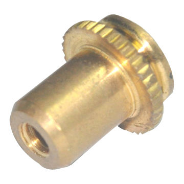 China Fabricated CNC Machining Part Made of Brass without Surface, OEM Orders are Accepted