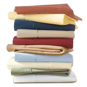 China Pillow Covers, Made of 200T or 100% Cotton Fabric, Satin Piping, Various Sizes are Available