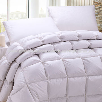 China Duvet with cotton fabric