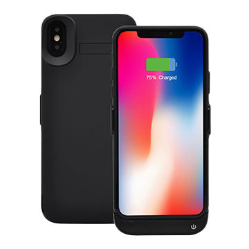 China New Design Power Bank Case Backup Battery Cases for iPhone X, with 5500mAh Lithium polymer battery