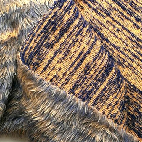 Taiwan Buckle Fleece Fabric with Back Side Plush