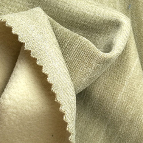 Taiwan 4-Way Stretch Pique Fleece Fabric with Cotton Touch, Wicking and Anti-pilling
