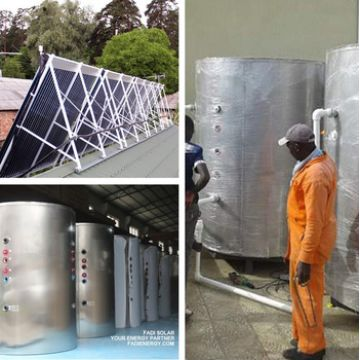 3000L Split High Pressurized Solar Water Heater System Solution with ...