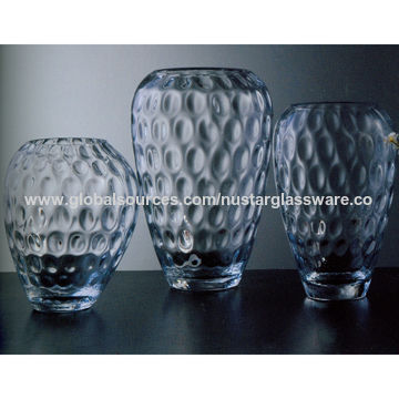 China Clear Glass Vases From Qingdao Wholesaler Qingdao Nustar