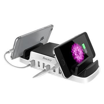 6-outlets Charger Station 5V8A USB Charging Station