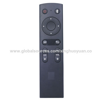 IR/Bluetooth/RF remote control with voice control