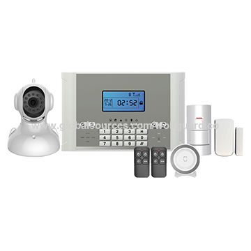 China Wireless GSM SMS Security Wolf Guard Home Alarm System for Homes, with Power-off Inform Function